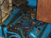 Yanmar gas to diesel engine replacement